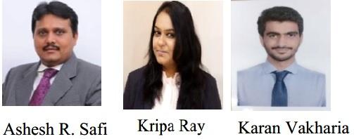 Ashesh Safi – Partner Kripa Ray - Manager- Karan Vakharia