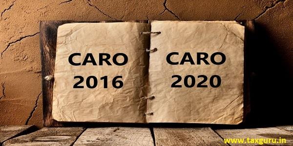 CARO 2016 and CARO 2020