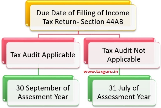 Filling of Tax Audit