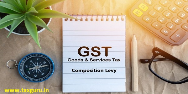 GST Composition Levy