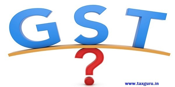 GST concept - Goods and Services Tax