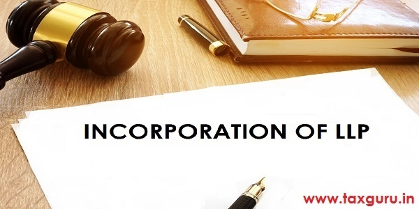 Incorporation of LLP