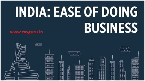 India Ease of Doing Business