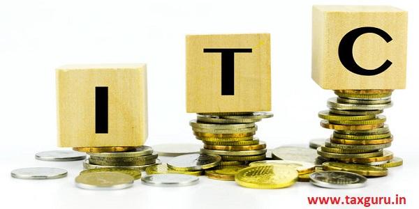 Input Tax Credit (ITC)