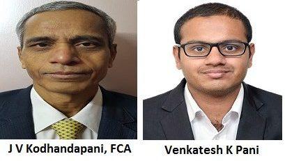 J V Kodhandapani and Venkatesh K Pani