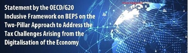 Latest Developments On Taxation Of Digitalised Economy