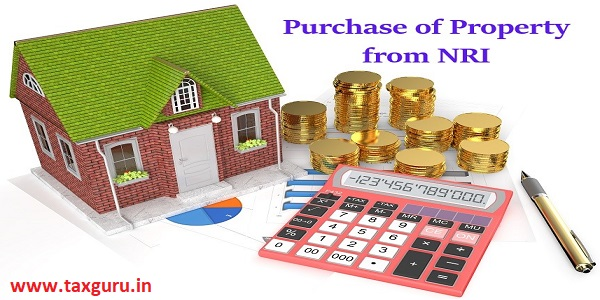 Purchase of Property from NRI