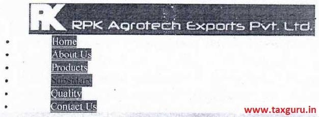 RPK Agrotech Export Pvt