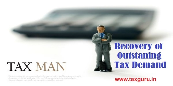 Recovery of Outstaning Tax Demand