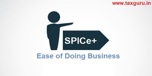 SPICe+ Ease of Doing Business