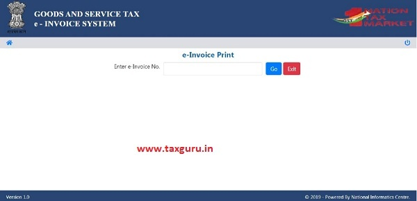 e-invoice system 12