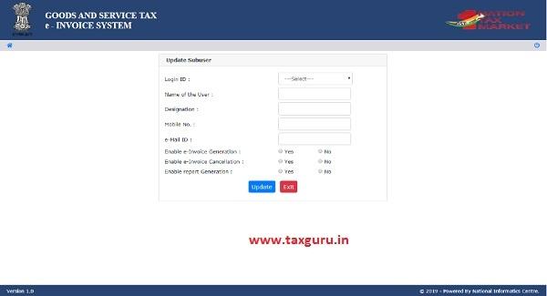 e-invoice system 17
