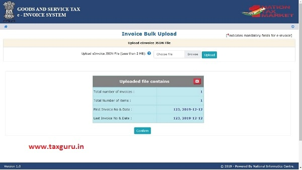 e-invoice system 8