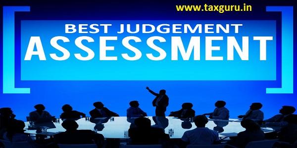 Best Judgement Assessment