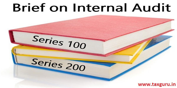 Brief on Internal Audit Series 100 and 200