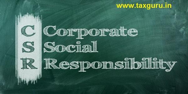 corporate social responsibility ( CSR )