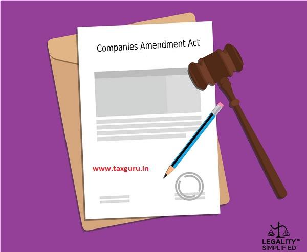 Companies Amendment Act