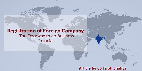 Foreign Company In India And Registration