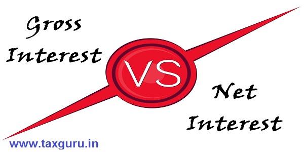 Gross Interest vs Net Interest