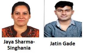Jaya Sharma-Singhania and Jatin Gade