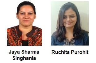 Jaya Sharma-Singhania and Ruchita Purohit