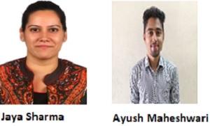 Jaya Sharma and Ayush Maheshwari
