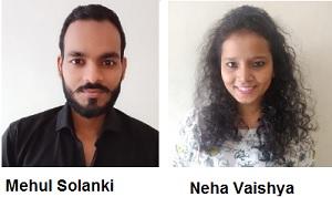Mehul Solanki And Neha Vaishya