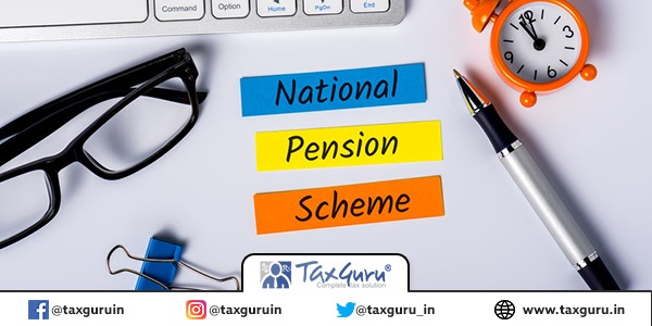 Natioanal Pension Scheme NPS - reminder of the need for savings for a decent, comfortable old age. Retirement plan