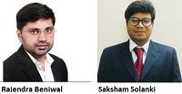 Rajendra Benlwal and Saksham Solanki