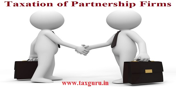 Taxation of Partnership Firms