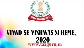 Vivad se vishwas Scheme, 2020