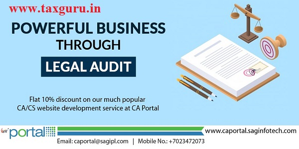 powerful business through Legal Audit