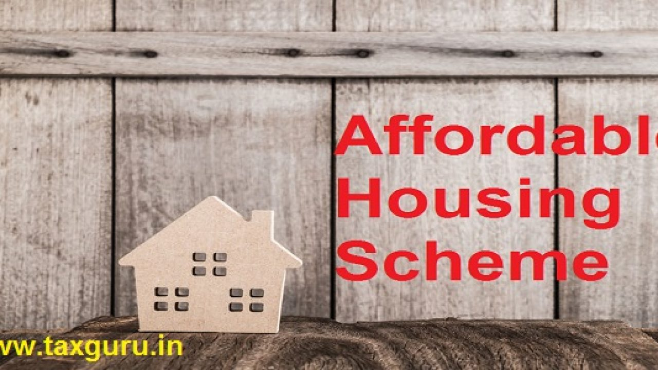Section 80 Iba Affordable Housing Scheme Income Tax Deduction