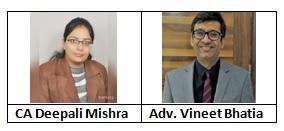 CA Deepali Mishra Adv. Vineet Bhatia