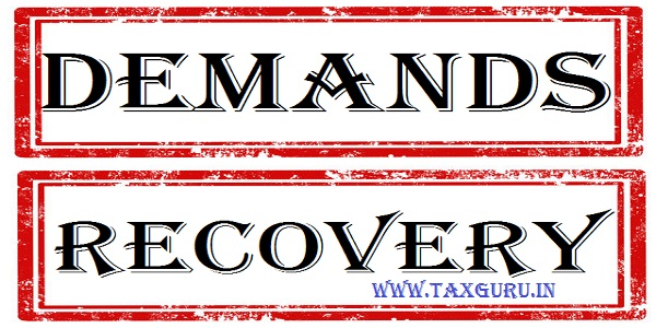 Demands and recovery