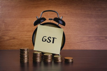 GST Goods and Services Tax Alarm Clock