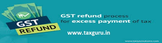 GST Refund Process