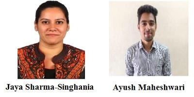 Jaya Sharma-Singhania & Ayush Maheshwari