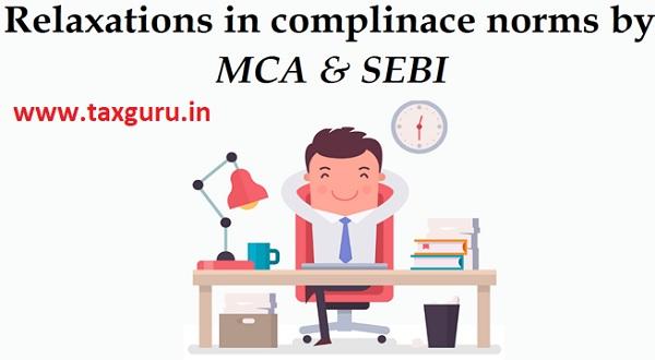 MCA & SEBI
