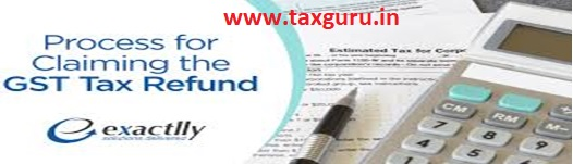 Process for Claiming the GST Tax Refund