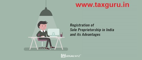 Registration of sole proprirtorship