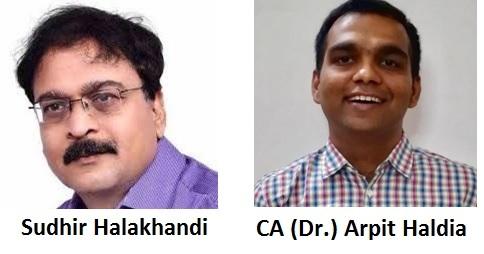 Sudhir Halakhandi And CA (Dr.) Arpit Haldia