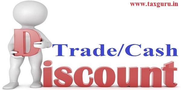Trade/Cash Discounts