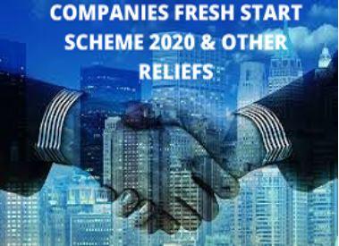 Companies Fresh Start Scheme, 2020 (CFSS-2020) & Other Reliefs