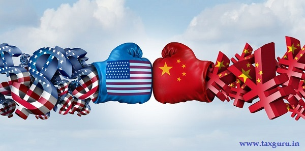 China Yuan And American Dollar fight