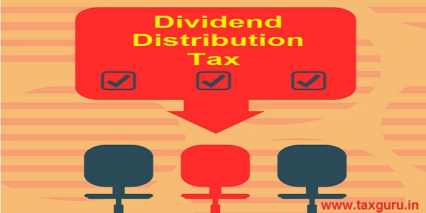 Dividend Distribution Tax