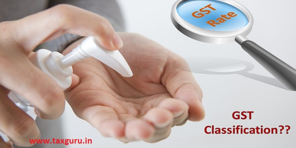 Classification of Alcohol Based Hand Sanitizer