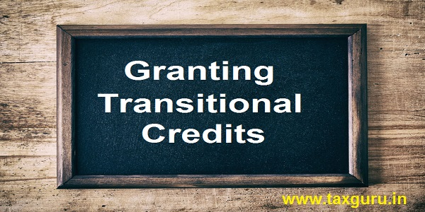 Granting Transitional Credits