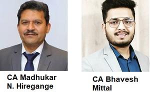Madhukar Hiregange and Bhavesh Mittal