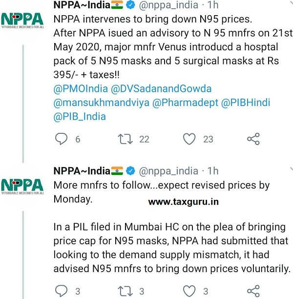 N95 Mask Prices Capped By Government